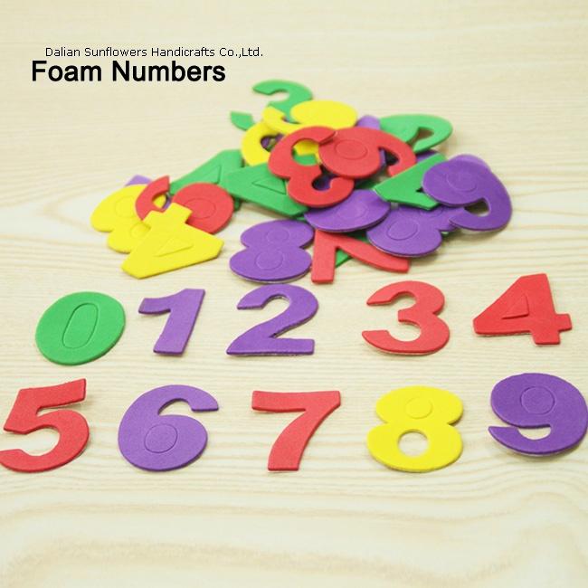 craft foam numbers - WOOD CRAFTS,FOAM CRAFTS,FELT CRAFTS,PAPER