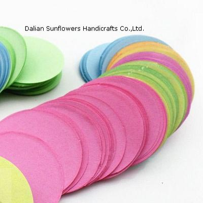 Colored Cardboard Circles